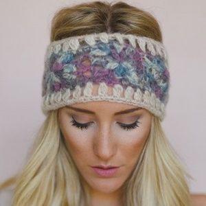 Three Birds Nest knit headband